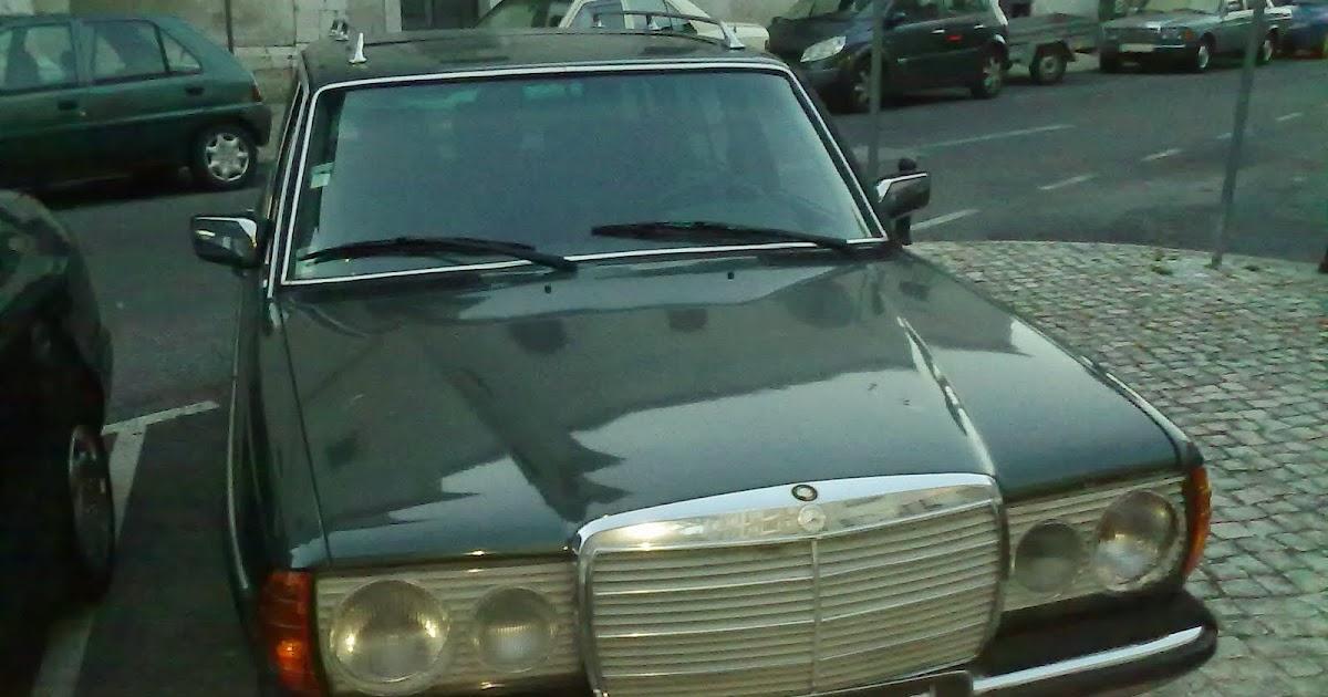 Polski Fiat e seus primos: Carrinha Mercedes 240TD verde ...