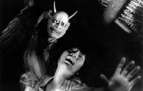 Fotograma de la película de Shindo, Onibaba, 1964