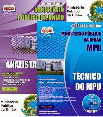 Apostila MPU Impressa 2015 - Área - Analista e Técnico - Digital.