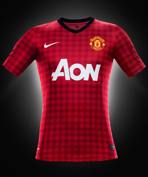 Manchester United Nike Home Kit 2012 2013