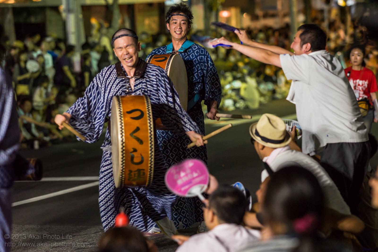 高円寺阿波踊り つくし連の鳴り物
