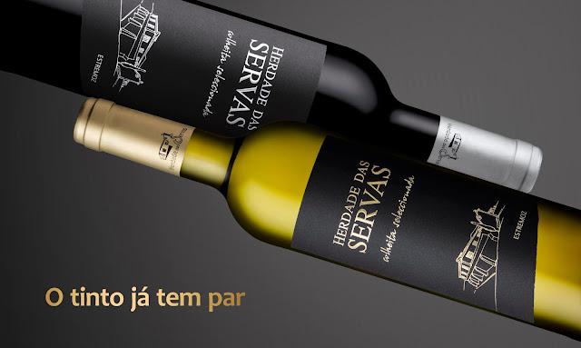 """Divulgação: """"O tinto já tem par"""" dá mote ao lançamento do novo vinho da Herdade das Servas - reservarecomendada.blogspot.pt"""