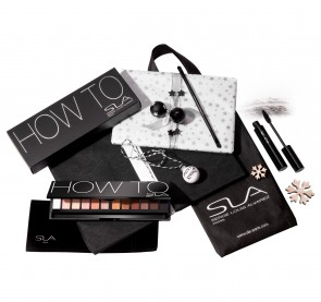 "Rezension: Geschenkset: SLA Lidschatten-Palette #HOW_TO und ""Oversize Fiber eye catcher mascara"""