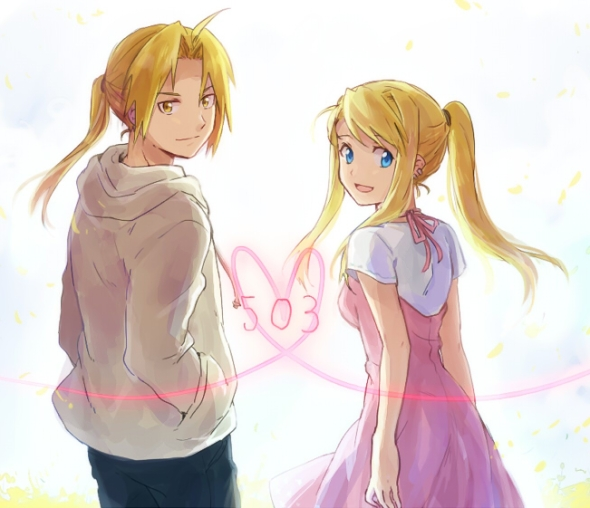 Edward y Winry (Video de Amor)