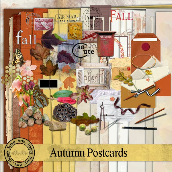 HSA-Autumn Postcard