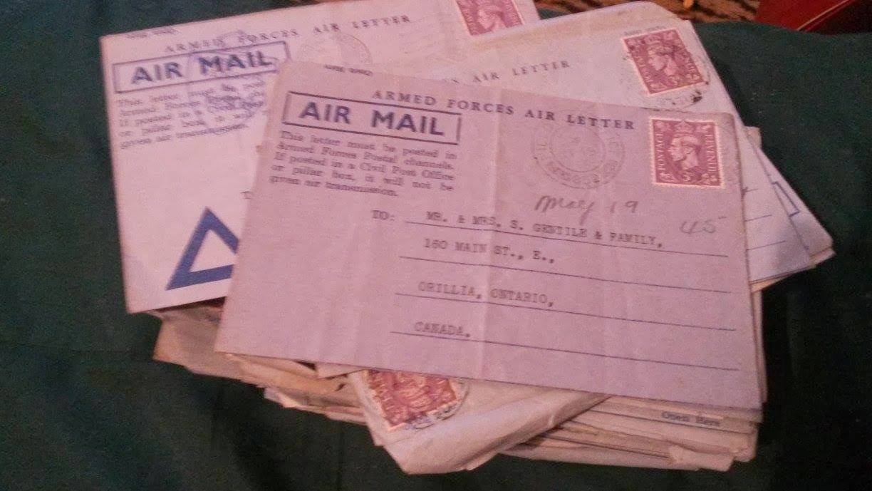Olive Tree Genealogy Blog: WW2 Soldier's Letters Found - Need Help Returning Them to Family