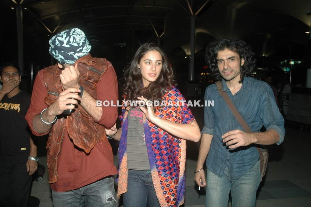 Nargis Fakhri 1 - Nargis Fakhri return from Rockstars tour