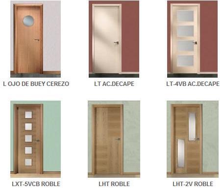 Fotos y dise os de puertas catalogo puertas de madera for Disenos de puertas en madera y vidrio