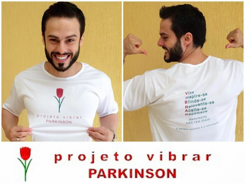 Raphael Montagner - padrinho do projeto: www.vibrarcomparkinson.com
