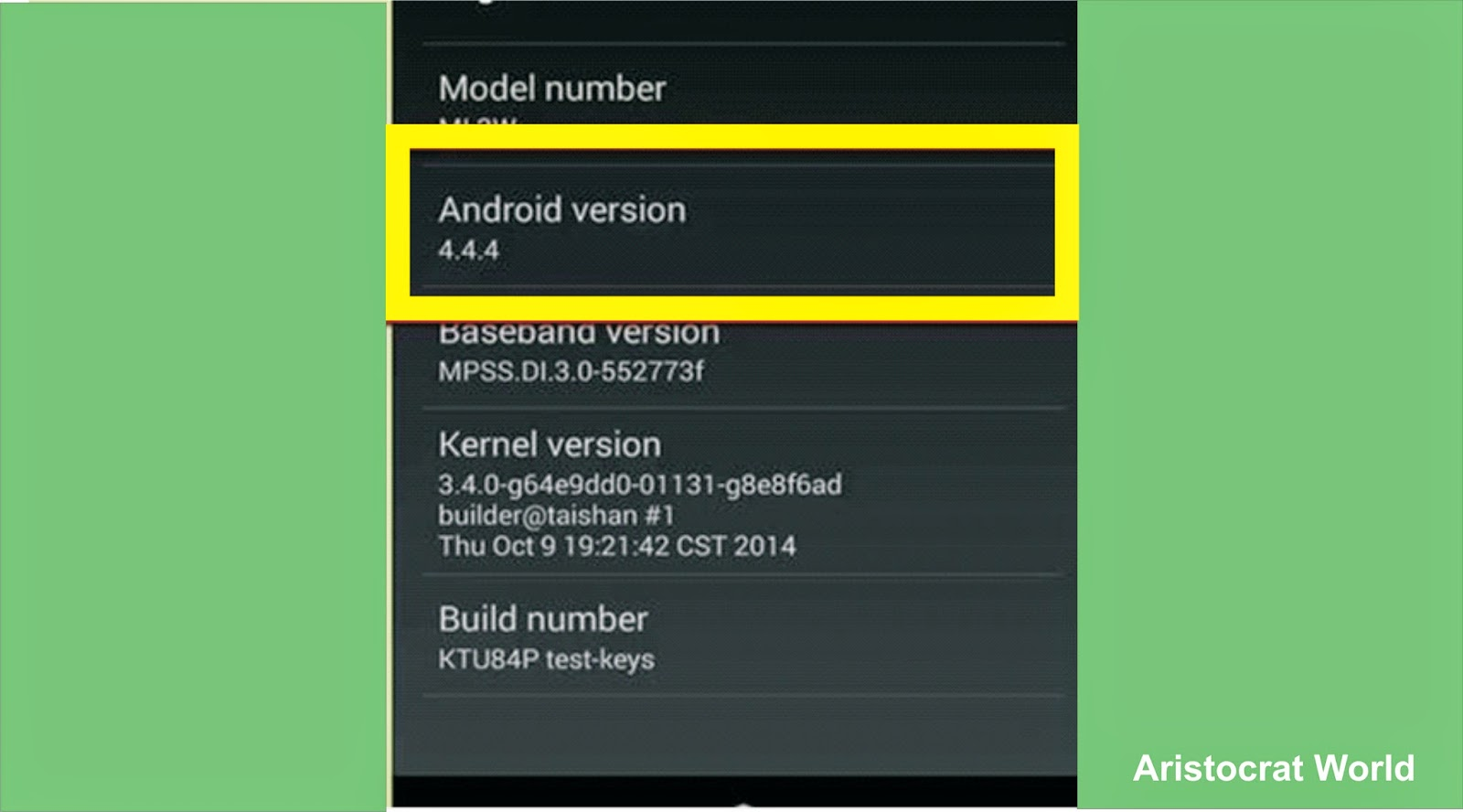 how to check what android version you