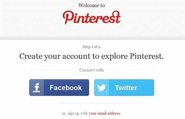 pinterest open registration