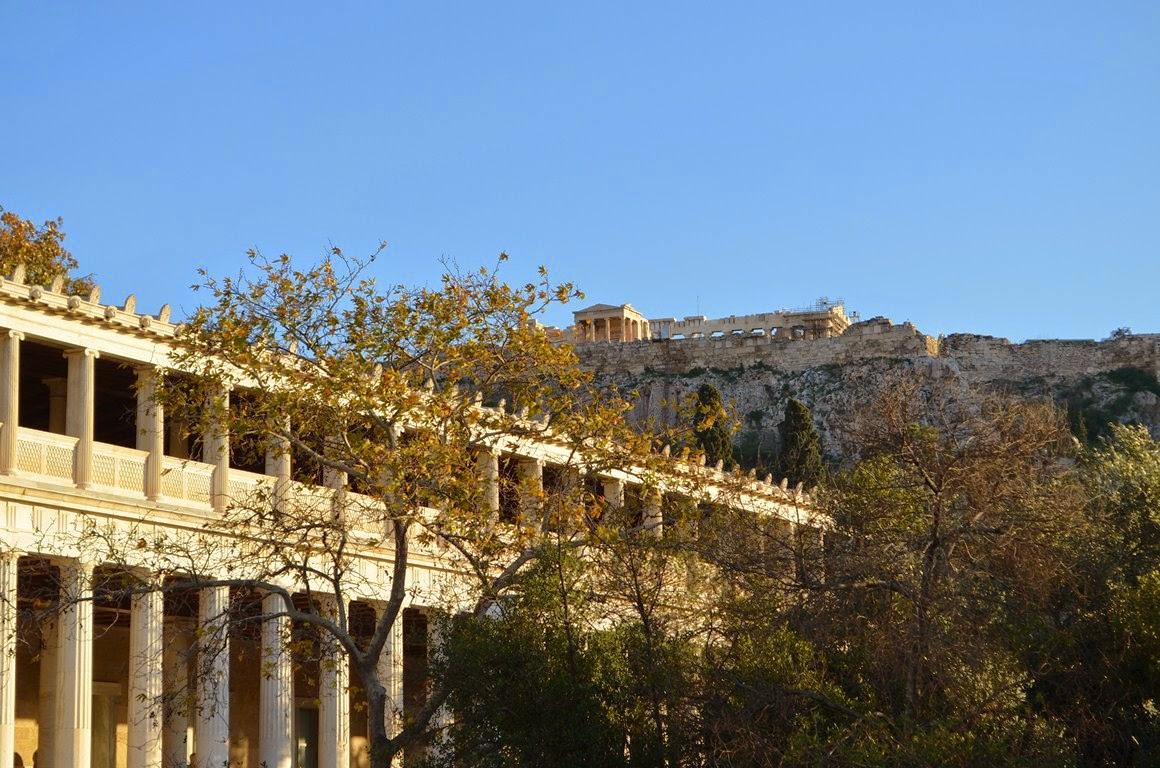 I Viaggi Di Raffaella L 39 Antica Agor Di Atene La Culla
