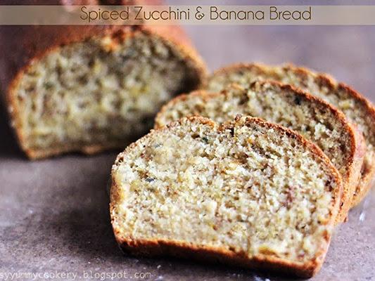 Healthy Vegan Spiced Zucchini Banana Bread