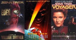 Star Trek Books / Giveaway