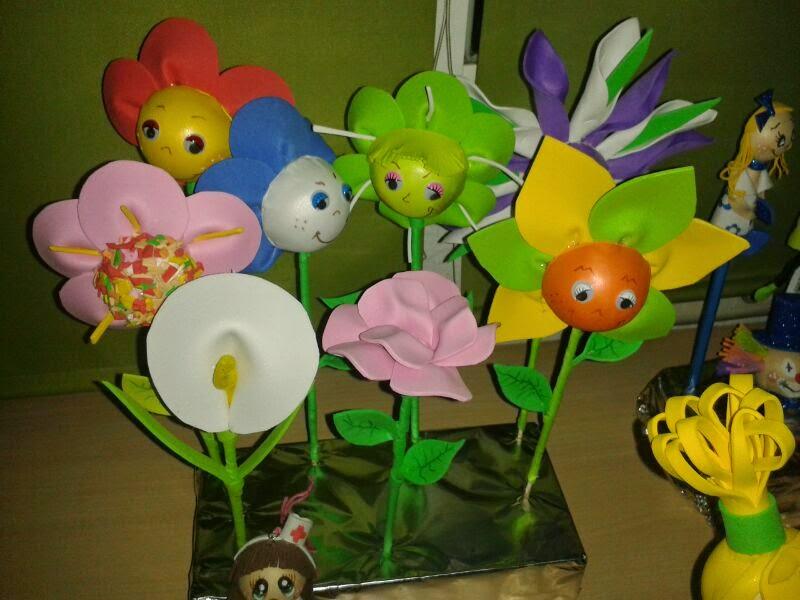 flores goma eva infantiles. top vinchas de goma eva de minnie with