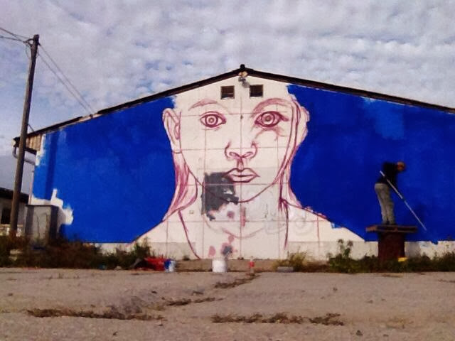 Street Art By German Urban Artist Tasso On The Streets Of Glauchau, Germany 4