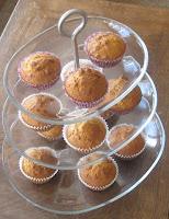 Walnuss-Karamell-Muffins mit Ahornsirup