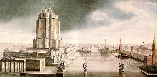 Casal catal de moscou arquitectura d 39 poca sovi tica for Architecture urss