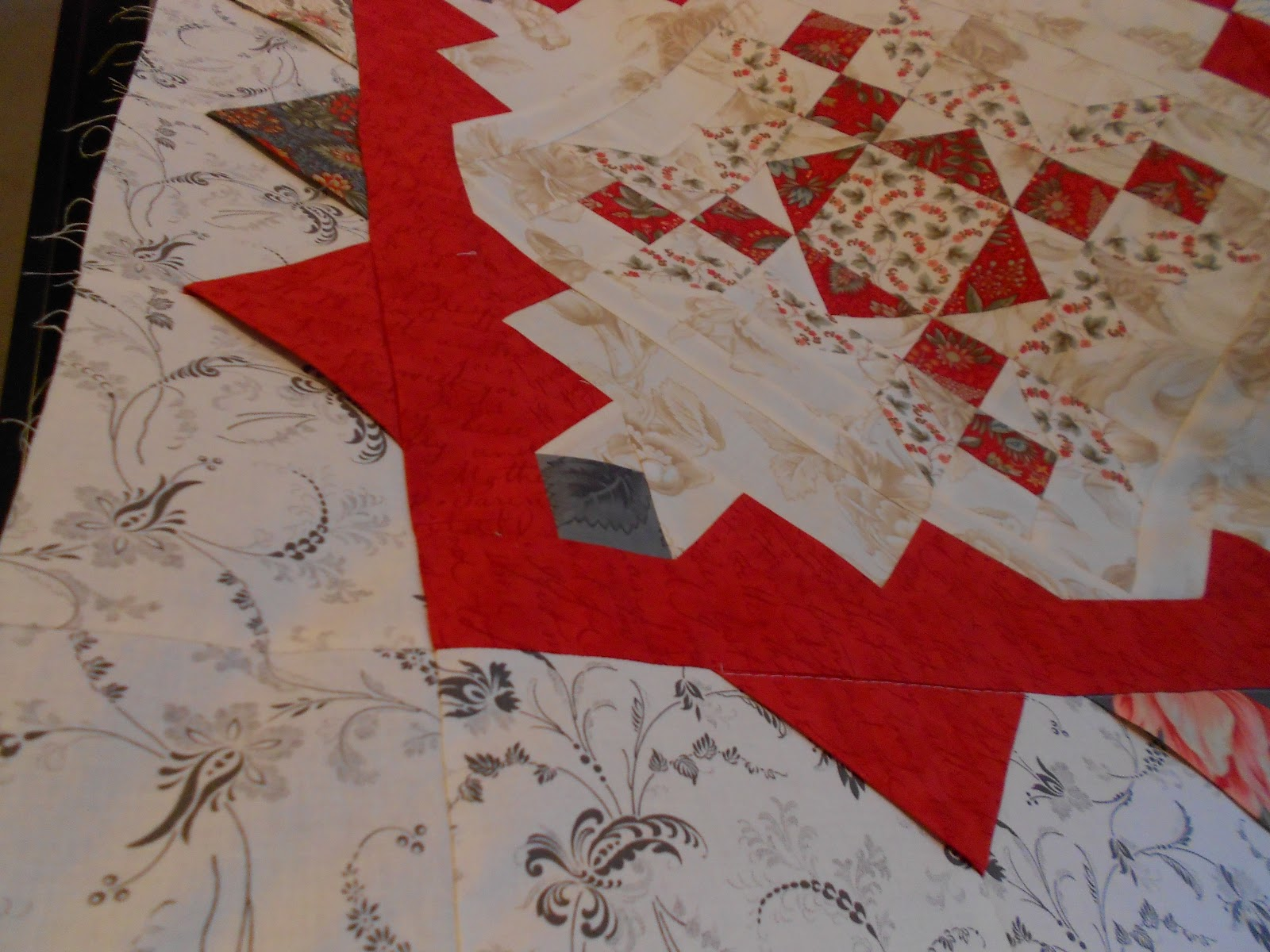 Chinaberry Grove Quilts Love Letters Quilt Almost Finished