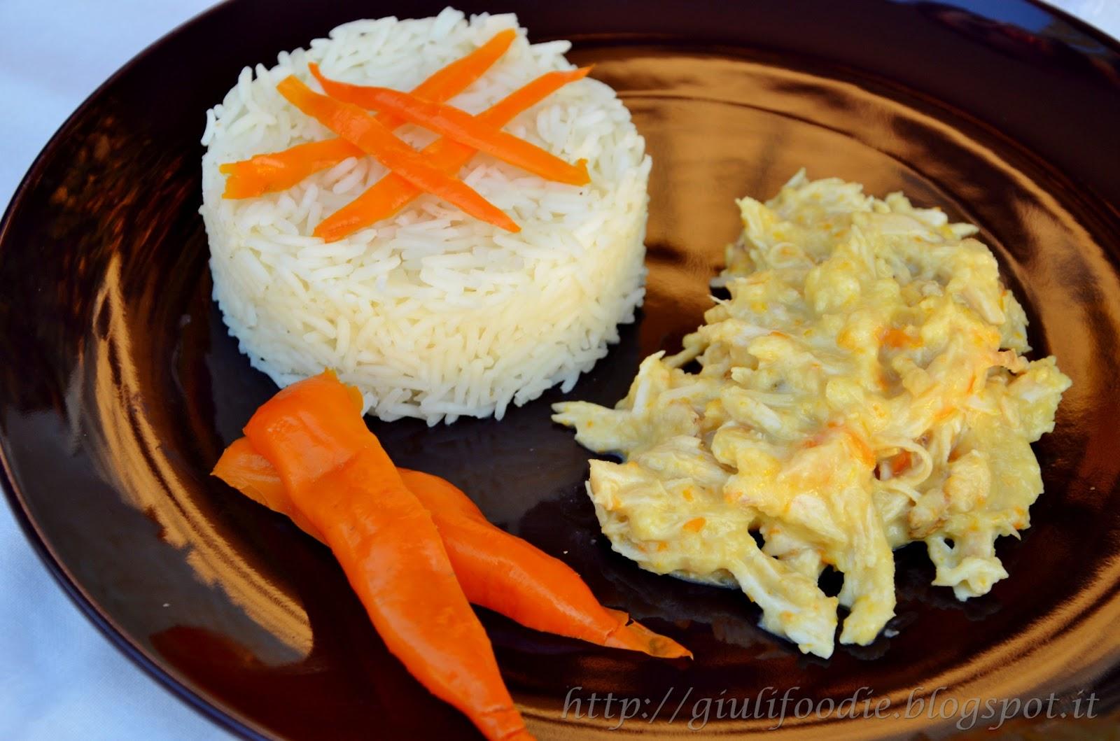 Pollo con peperoncini aji amarillo -Aji de Gallina