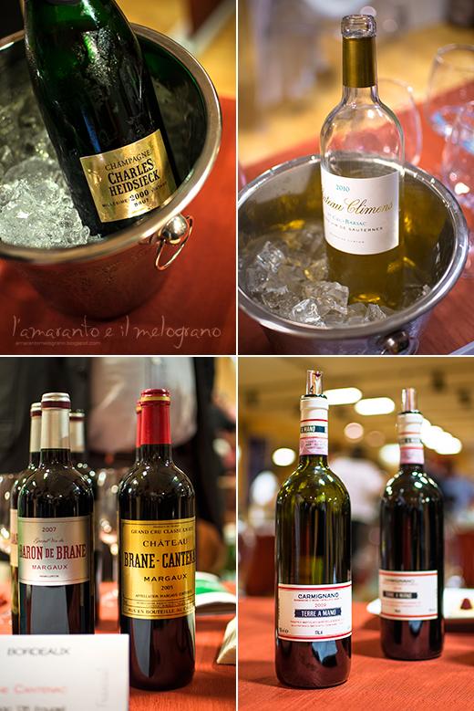 la prima guida street food del gambero rosso... e un paio di vini francesi da sogno