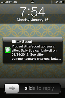 SitterScout Sample Text