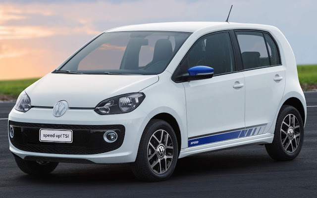 Volkswagen Up! TSI Turbo 2016 - Speed-Up!