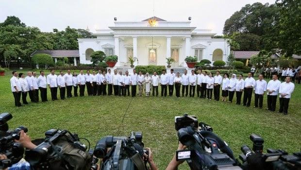 Pengumuman Kabinet Jokowi JK atau Kabinet Kerja 2014-2019
