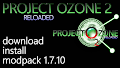 HOW TO INSTALL<br>Project Ozone 2: Reloaded Modpack [<b>1.7.10</b>]<br>▽