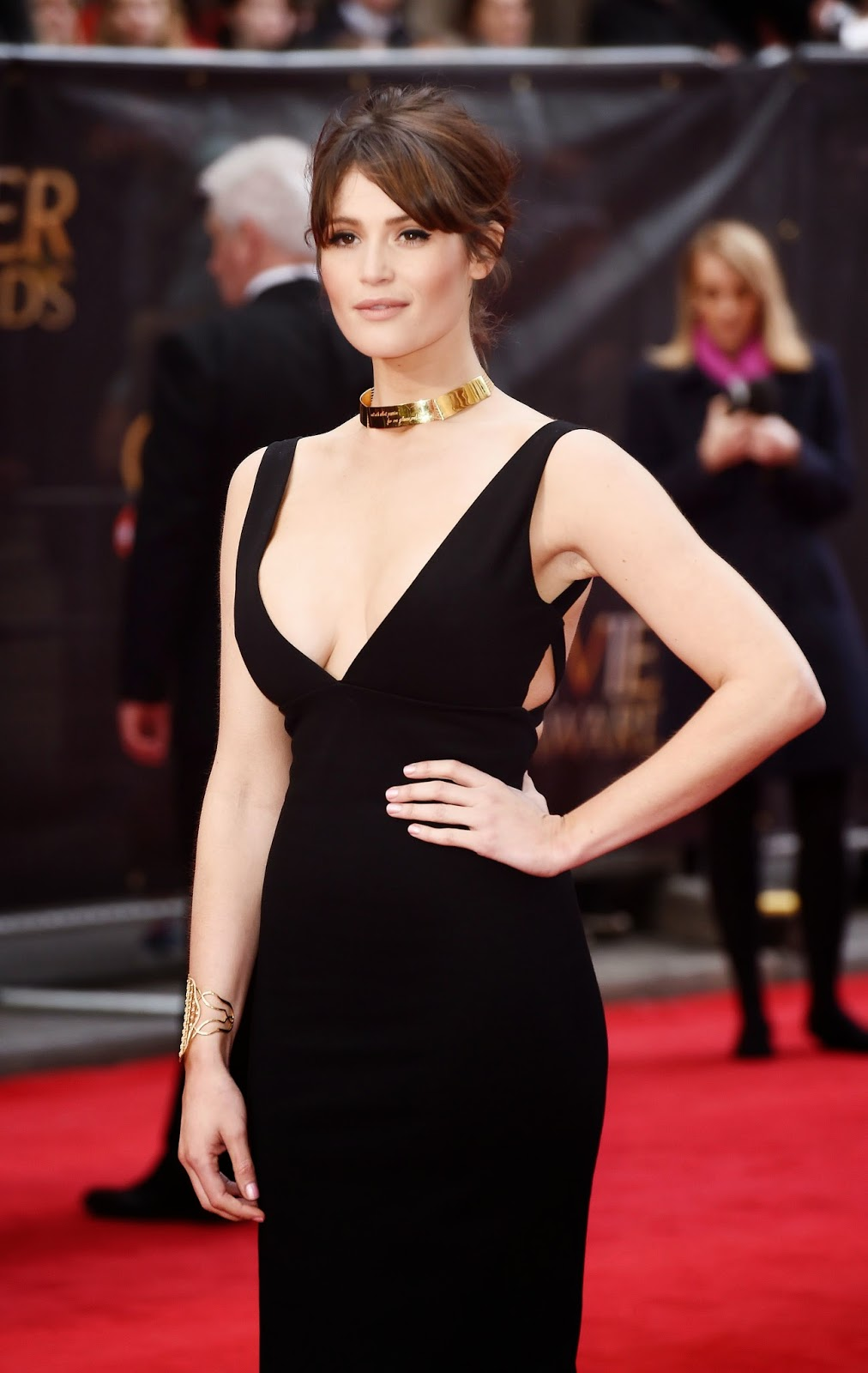 Actress @ Gemma Arterton - The Olivier Awards in London