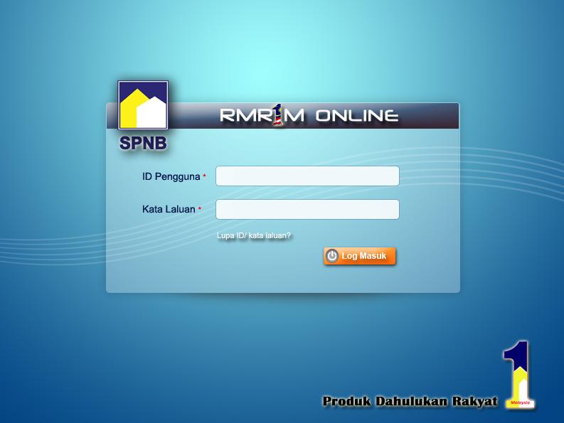 Permohonan Rumah Mesra Rakyat 1 Malaysia Secara Online RMR1M