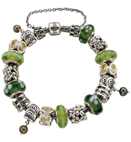 Mille Feuille Pandora Charm Bracelets