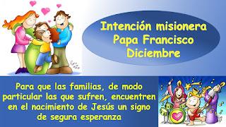 intención misionera, misiones