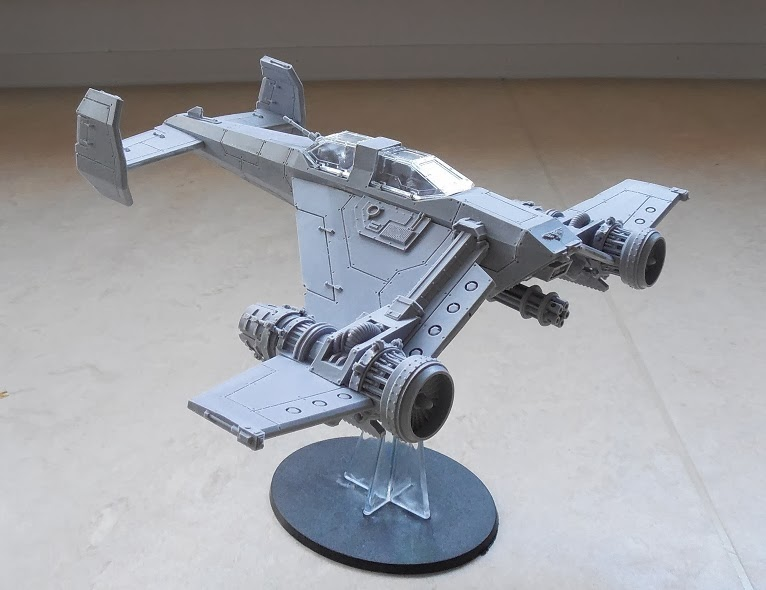 Test fitting the cockpit parts and the canopyu0027s. I was a bit worried at first because the front canopy was warped but a bit of hot water cleared that up in ... & 313th Drop Troop Regiment: Avenger Strike Fighter (Part 3)