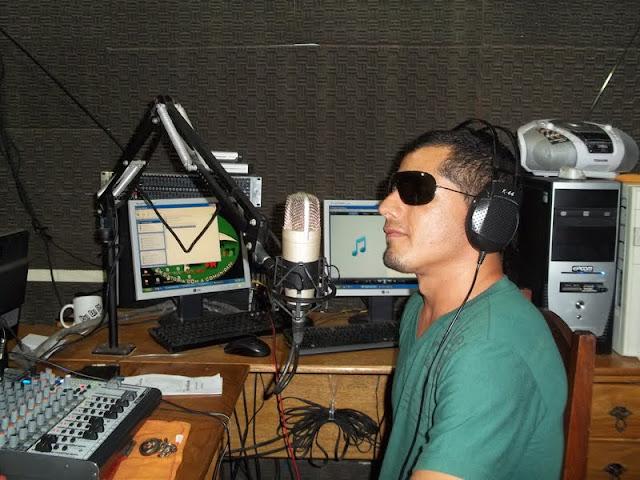 Locutor e DJ Jarde Lopes