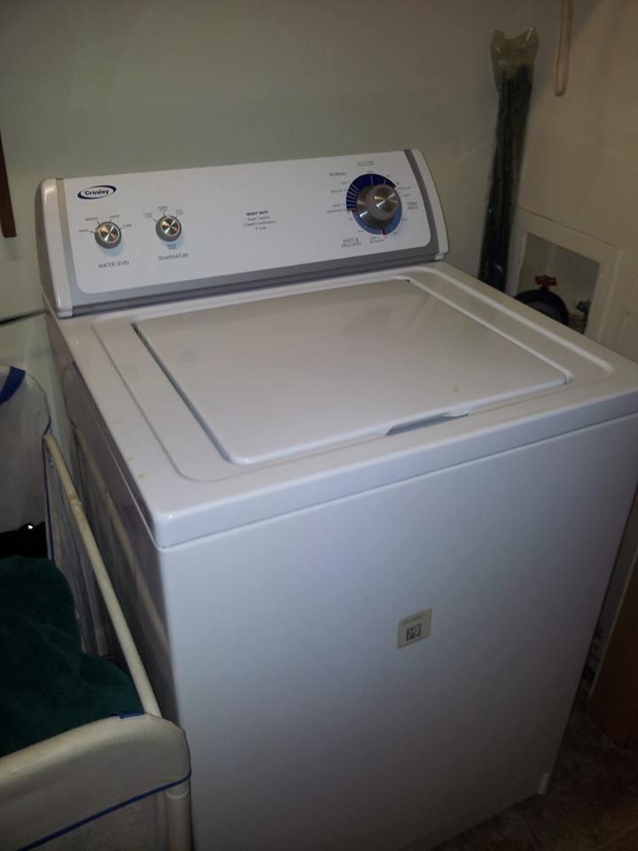 selling washing machine for scrap