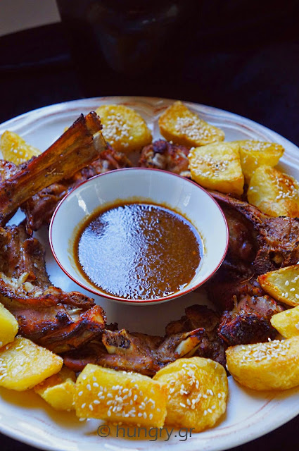 Lamb Chops & Sesame Potatoes