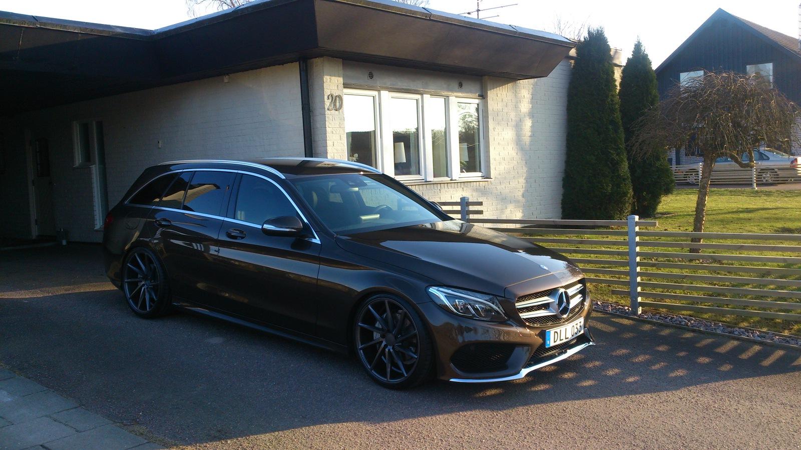 Mercedes benz s205 on r20 vossen cvt rims benztuning for 2015 mercedes benz c300 tire size