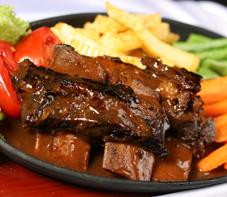 resep dan cara membuat bumbu iga bakar madu daging sapi enak gurih