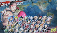 Street Fighter 4 3D Character Select