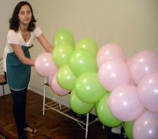 Curso de Decorações de Balões