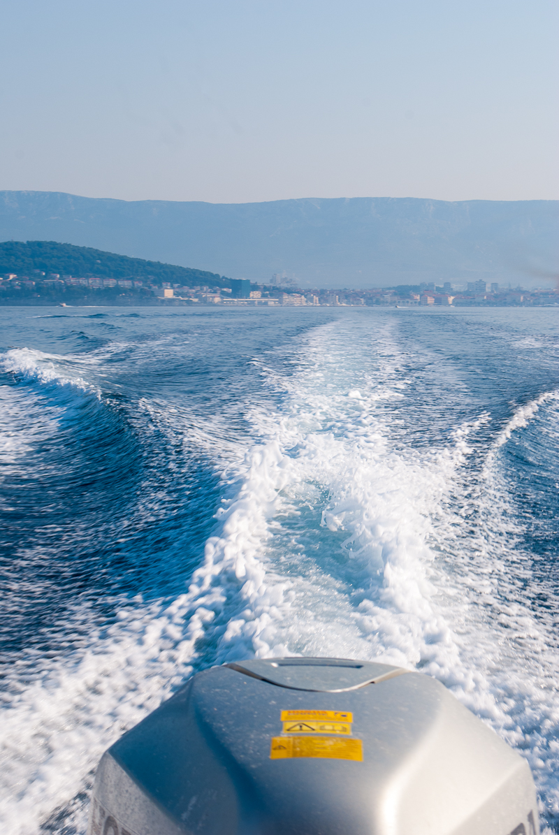 sailing the dalmatian coast from split, croatia.