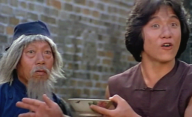 Snake in the Eagle's Shadow Starring Jackie Chan and Yuen Siu Tien