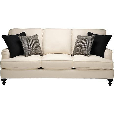 Suzie Seating Value City Furniture Living Room Vista Cream Sofa