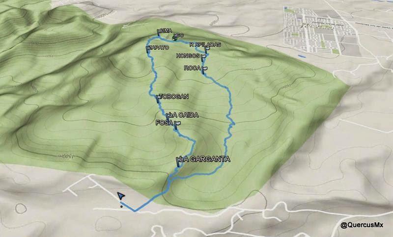 Algunos puntos de interés en el Cerro Jacal de Piedra