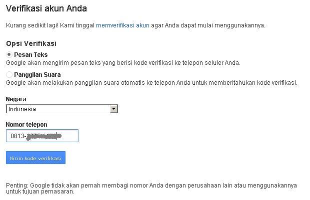 form pendaftaran email Gmail baru sesuai dengan data diri Anda. Untuk ...