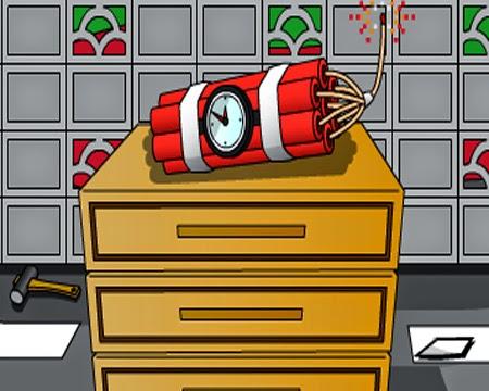 Juegos de Escape Bomb Room Escape 2