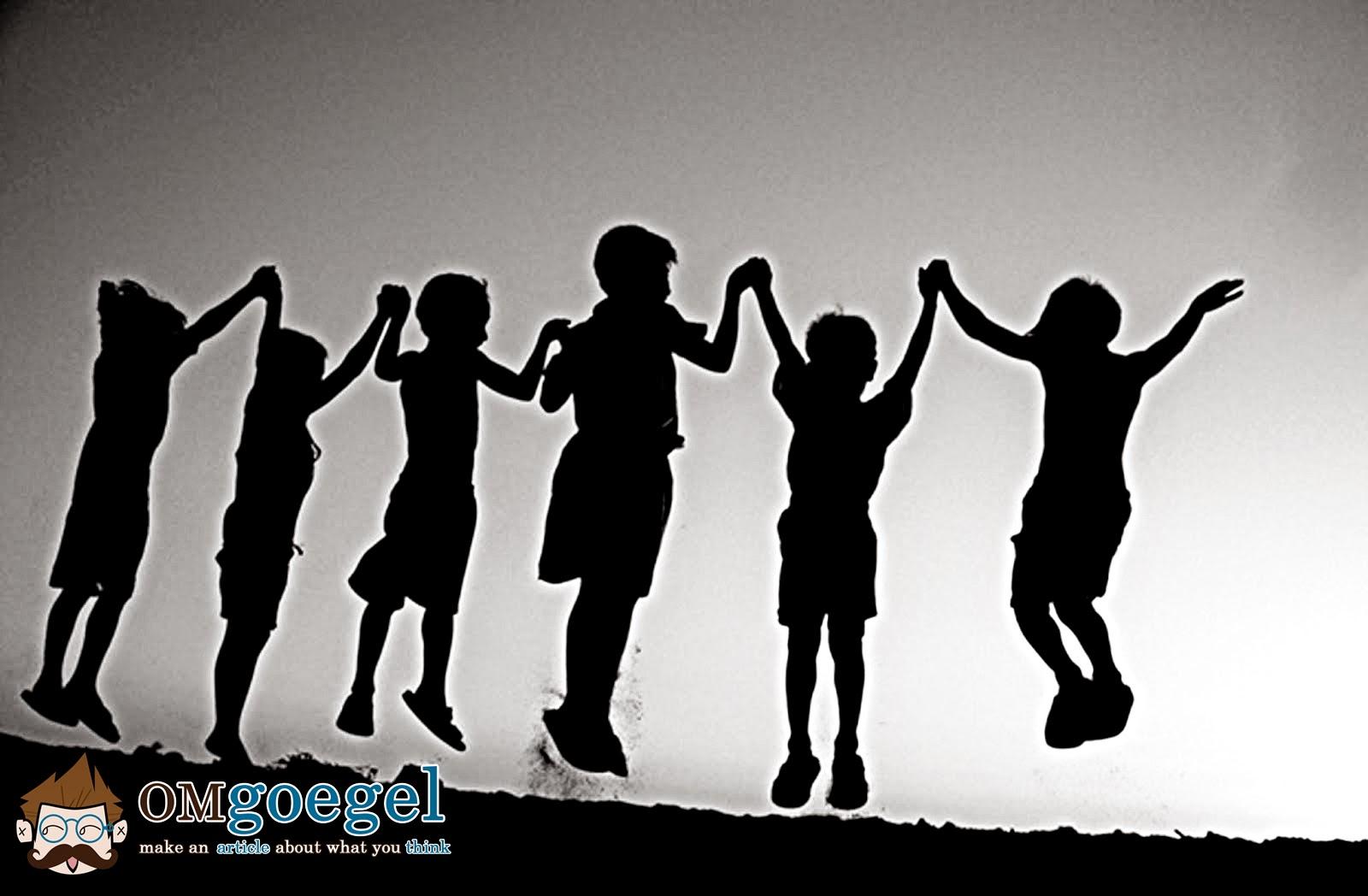 Bahagia bersama Sahabat