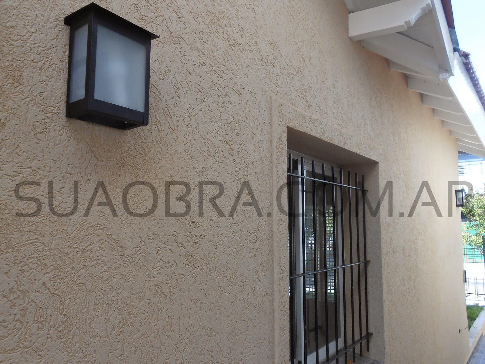 Colocacion profesional tarquini suaobra com ar for Revestimiento pared exterior