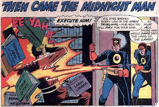 Morlock and the Midnight Men #3, Atlas Comics, book burning, Steve Ditko and Berni Wrightson